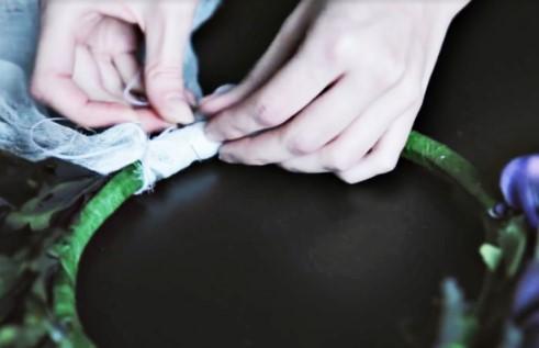 плетём венок