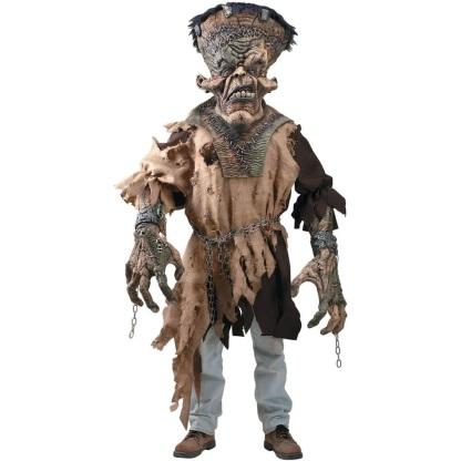 костюм монстра на Хэллоуин