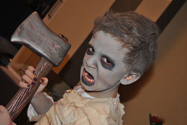 детский костюм монстра с топором