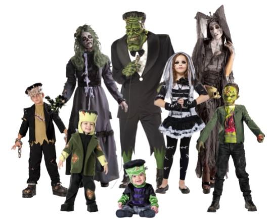 костюмы монстров для всей семьи