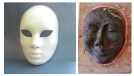 как сделать маску по форме лица